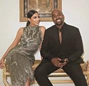 Kim Kardashian casou-se com Kanye West em 2014