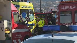 Um morto e três feridos graves em derrocada de prédio em Vale de Cambra