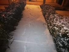 Neve em Ventozelo, Mogadouro