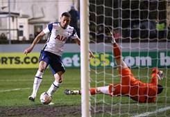 Vinícius marcou três golos na 1ª parte