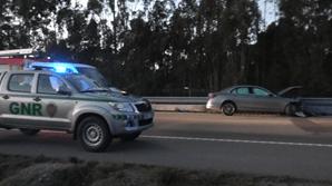 Militar da GNR ferido em colisão entre dois carros em Sines