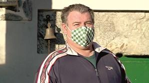 Martinho Silva ficou infetado depois da visita do filho, emigrante em França