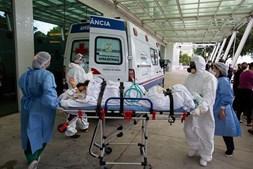 Hospital 28 de Agosto, em Manaus, Brasil