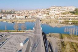 Coimbra. Na cidade dos estudantes foram poucos os que não respeitaram o dever de recolhimento domiciliário imposto pelo novo confinamento