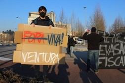 Novo protesto 'antifa' contra André Ventura em Trás-os-Montes