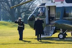 Trump parte de Washington de manhã para evitar posse de Biden