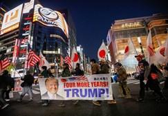 Apoiantes de Donald Trump manifestam-se… em Tóquio