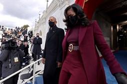 Obama e Michelle Tomada de posse Biden