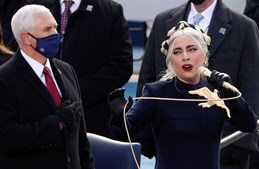 Lady Gaga Tomada de posse