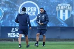 Sérgio Conceição não deu treino pelo segundo dia consecutivo, tendo permanecido em casa