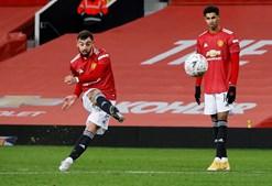 Livre direto de Bruno Fernandes coloca Manchester United na final da Taça de Inglaterra