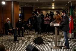 João Ferreira após conhecer os resultados das presidenciais