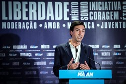 Tiago Mayan reage aos resultados da noite de presidenciais