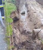 Homem morre soterrado em obra em Mondim de Basto