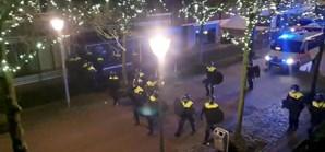 Violentos protestos na Holanda