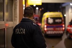 Agentes da PSP escoltaram a transferência de doentes do hospital Amadora-Sintra