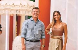 Diana Chaves e João Baião