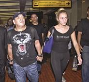 Diego Maradona e Rocío Oliva namoraram durante sete anos