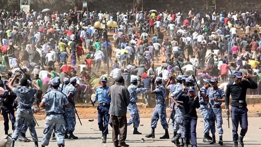 Confrontos Etiopia