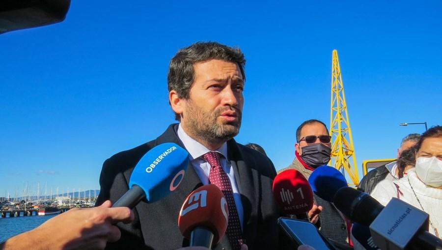 André Ventura em campanha eleitoral