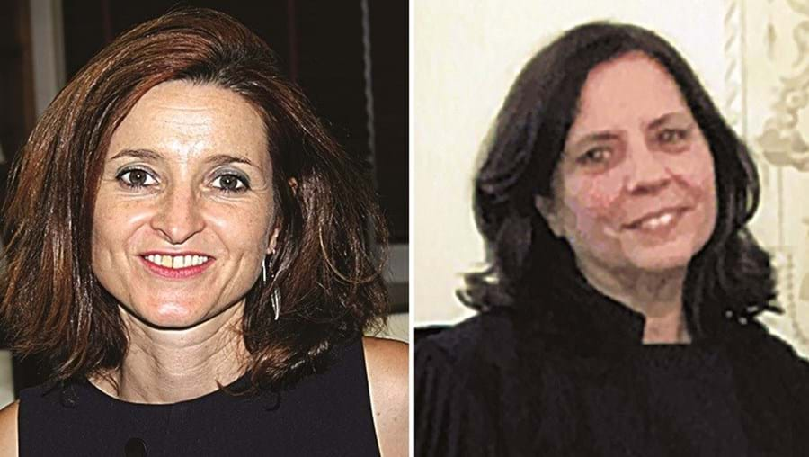 Andrea Marques e Fernanda Pêgo