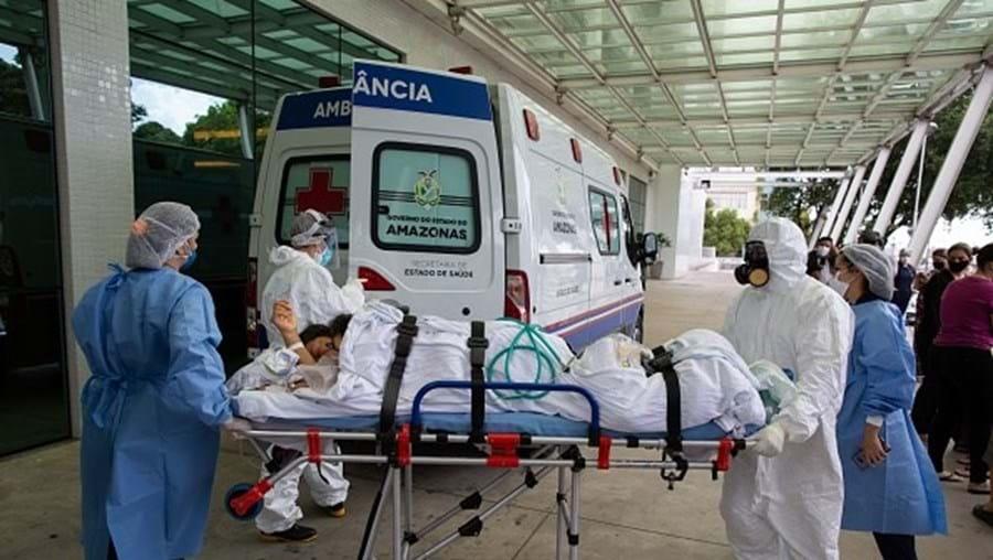Hospitais brasileiros sobrelotados