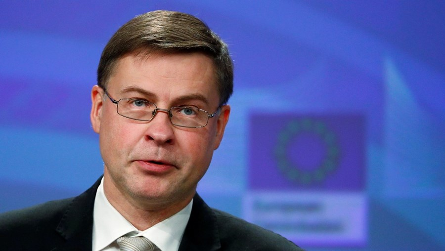 Valdis Dombrovskis é vice-presidente-executivo da Comissão Europeia