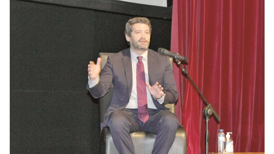 André Ventura é presidente do Chega