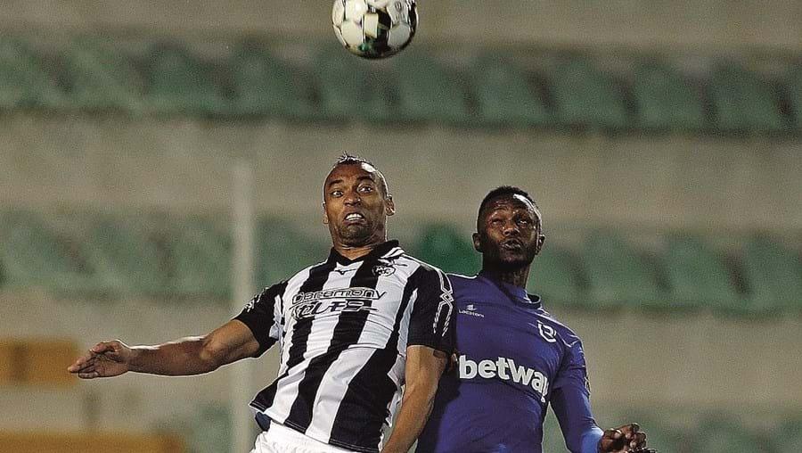 Bruno Moreira, o mais recente reforço do Portimonense, esteve bem no jogo