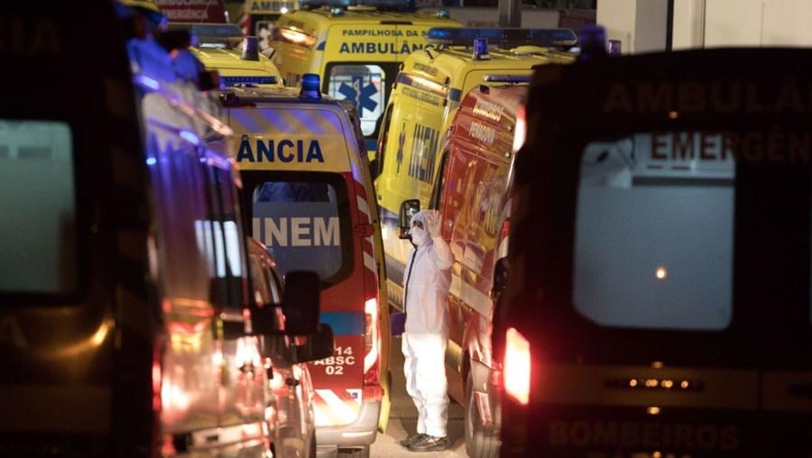 Pressão nos hospitais continua a aumentar em Portugal