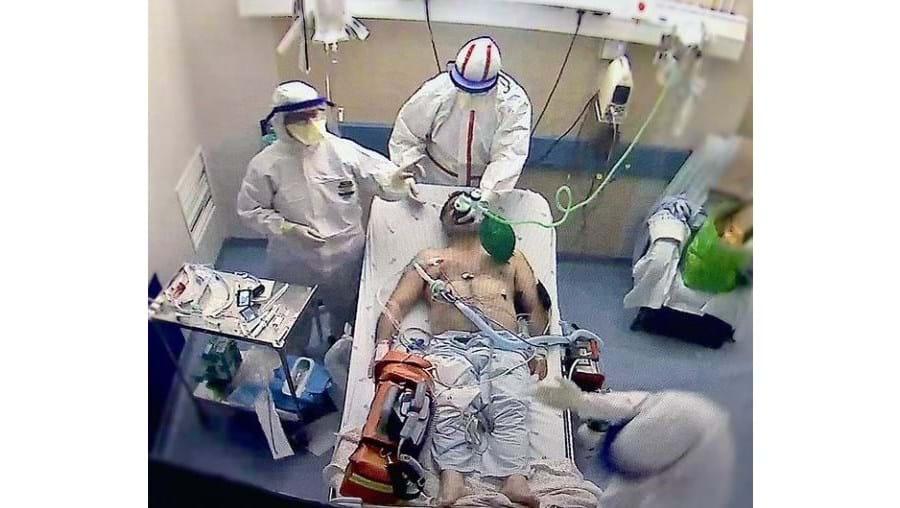Imagem captada no Hospital Curry Cabral, em Lisboa