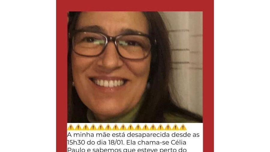 Célia Paulo tem 50 anos