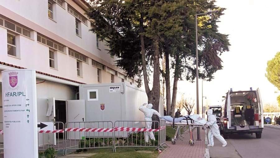 Hospital das Forças Armadas já recebeu, desde março do ano passado, um total de 652 doentes Covid-19