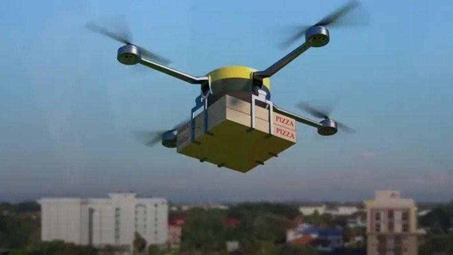 Pizza Hut vai começar a entregar pizzas com drones