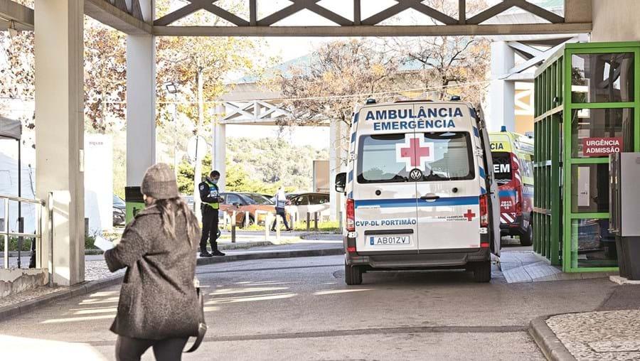 A região tem 233 doentes internados nas unidades hospitalares