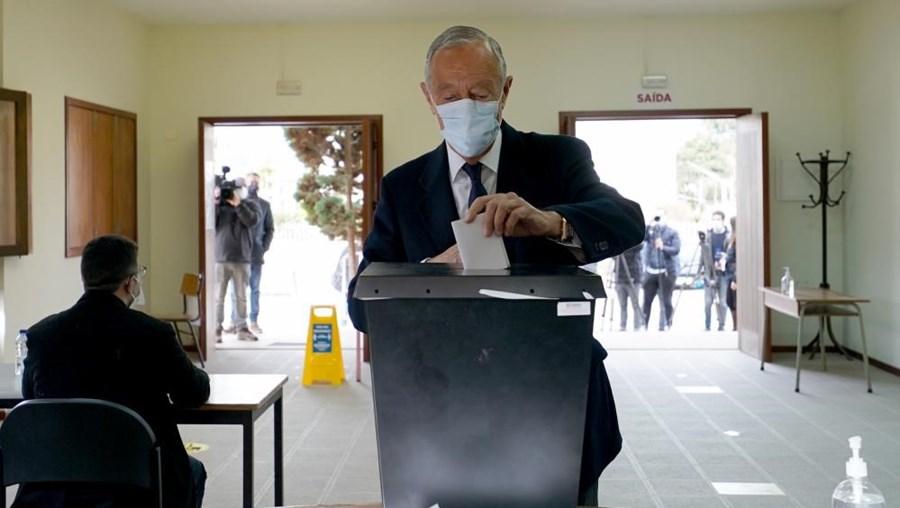 Marcelo Rebelo de Sousa já votou nas eleições presidenciais