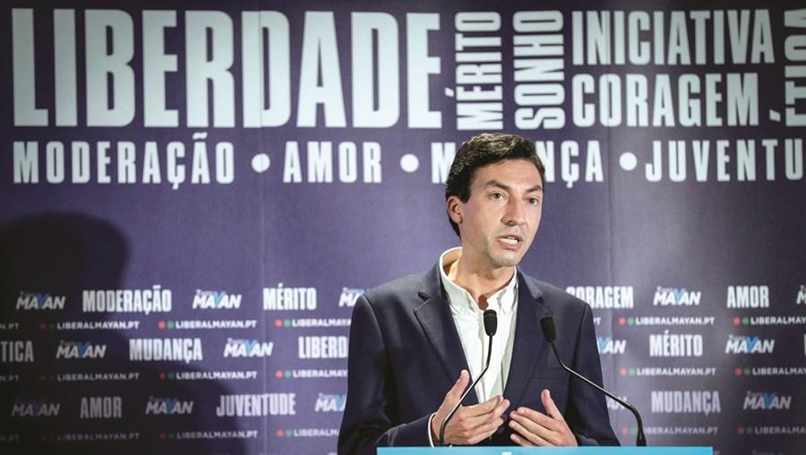Tiago Mayan Gonçalves defendeu, no Porto, que os números mostram o crescimento da onda liberal