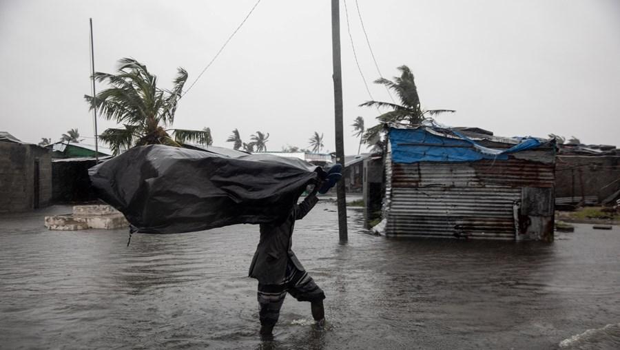 Ciclone Eloise em Moçambique
