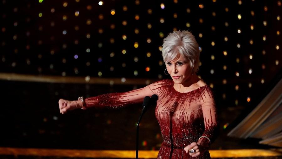 Atriz Jane Fonda