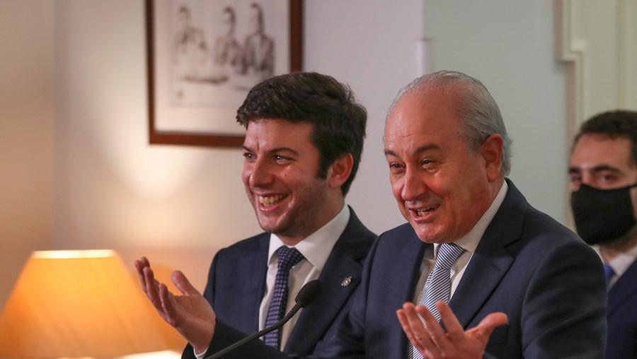 Francisco Rodrigues dos Santos e Rui Rio enfrentam nova chuva de críticas internas após eleições Presidenciais