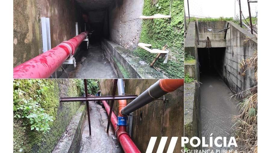 Clientes de restaurante fogem à PSP por túnel de escoamento de águas e acabam resgatados