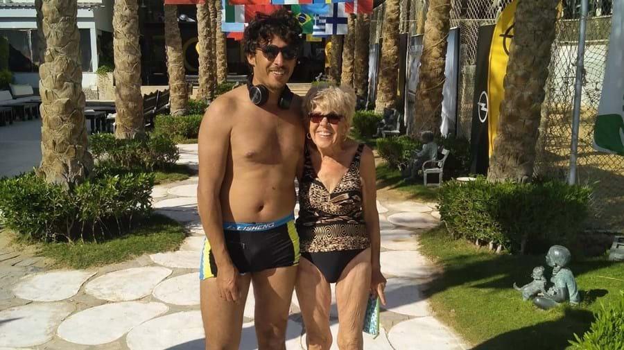 Iris redescobriu vida sexual com marido 45 anos mais novo