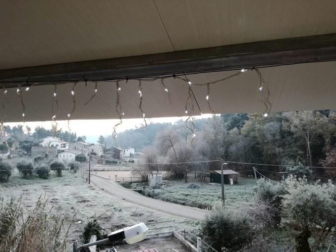 Neve pinta Miranda do Douro de branco