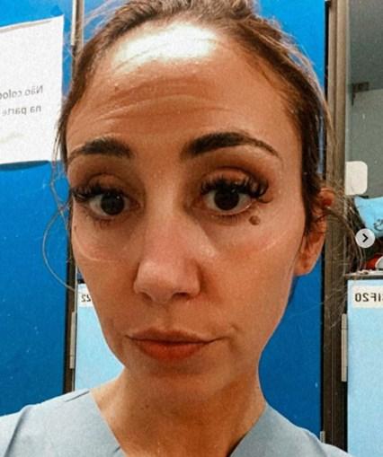 Ana Isabel Pedroso é médica no hospital de Cascais