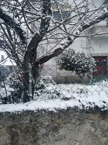 Neve em Póvoa, Miranda do Douro