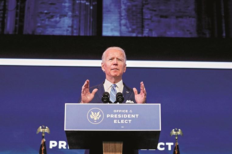 Biden vai propor ao Congresso um pacote de ajuda de 1,9 biliões de dólares
