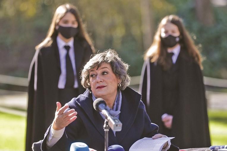 Ana Gomes esteve ontem com estudantes de Coimbra