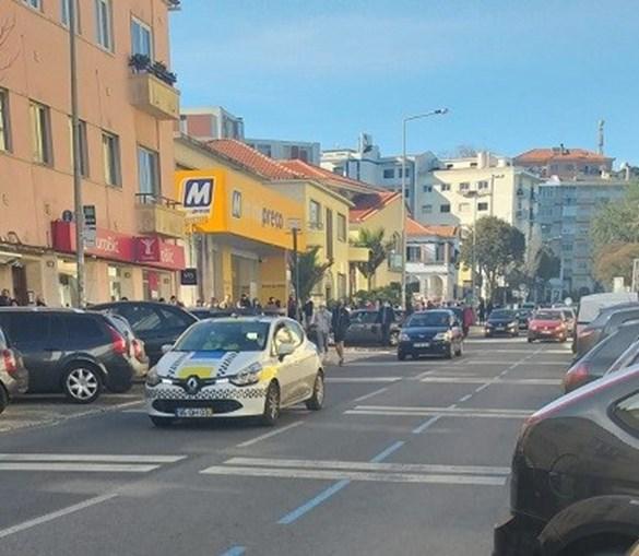 Longas filas para votar nas presidenciais em Sintra