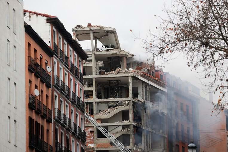 Explosão em Madrid