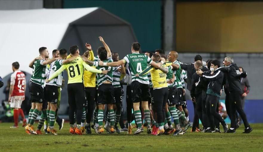 Sporting ganhou final da Taça da Liga frente ao Sp. Braga